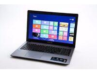 ASUS X550C TOUCHSCREEN/ INTEL i3 1.80 GHz/ 8 GB Ram/ 750 GB HDD/ HDMI / WEBCAM/ WIRELESS/ WINDOWS 8