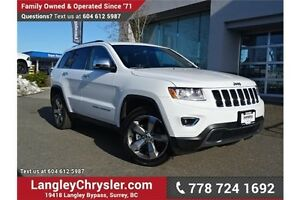 2016 Jeep Grand Cherokee Limited W/ LEATHER, HEATED SEATS & S...