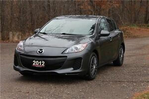 2012 Mazda 3 GX GX | ONLY 68K | CERTIFIED + E-Tested Kitchener / Waterloo Kitchener Area image 1