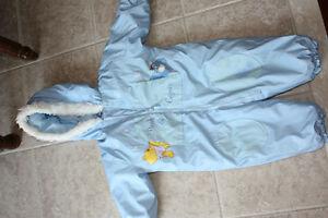 24 month - one piece snowsuit