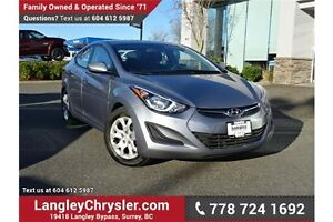 2015 Hyundai Elantra GL LOCALLY DRIVEN w/ POWER ACCESSORIES &...