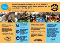 Dalgarno Trust food bank fundraising