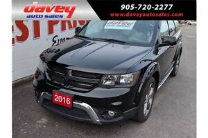 2016 Dodge Journey Crossroad NAVIGATION, SUNROOF, LEATHER