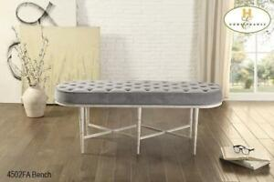 MA10 4502FA Grey Bench in Toronto,Lowest Price in Toronto,Huge Furniture Sale in Toronto (BD-1420)