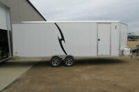HEATED TRAILER SALE ALL ALUMINUM NEO 8.5 x 26'