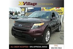 2011 Ford Explorer Limited Back-up Camera, Leather, Heated Se...