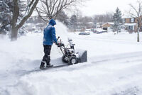 Residential & Light-Duty Commercial Snow Removal Services