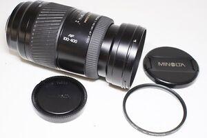 Minolta AF APO TELE ZOOM 100-400mm F/4.5-6.7 Lens for Sony Alpha