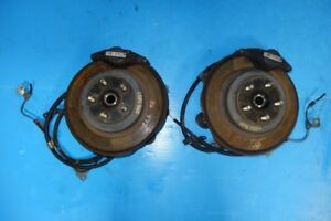 JDM Subaru WRX Rear 2 Pot Brake Calipers Spindle 1993-2007