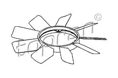 Engine Cooling Fan Wheel Fits MERCEDES W208 W202 W124 S202 C208 A208 1988-2001