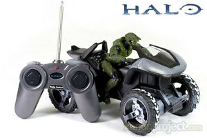 RC Halo Radio Control Mongoose With Master Chief Figure