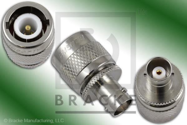 BNC Female to C Male Ludlum UG-636A/U adapter Collins R-390A BRACKE  BM50711