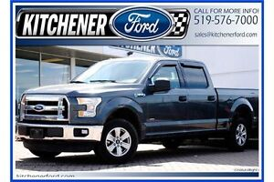 2015 Ford F-150 XLT/CREW/4X4/6.5FT BX/3.5ECO/TOW PCKG