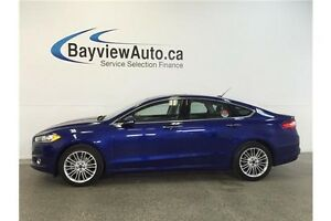 2016 Ford FUSION SE- ECO BOOST! AWD! LEATHER! SUNROOF! PARK AID!