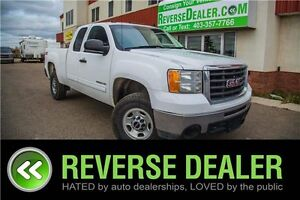2010 GMC Sierra 2500HD SLE ** 4X4, 6.0L V8, LOW MILEAGE **