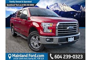 2015 Ford F-150 LOCAL, NO ACCIDENTS, LOW KM'S