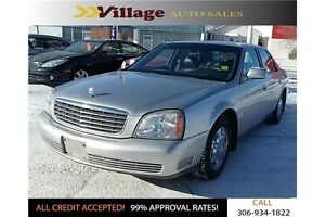 2005 Cadillac DeVille Base Power Sunroof, Leather Interior, H...