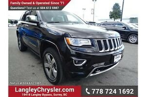 2015 Jeep Grand Cherokee Overland W/ NAPPA LEATHER & NAVIGATION