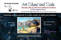 The Group Art Society of Calgary's Spring Show and Sale