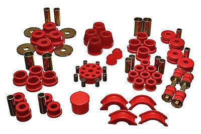 ENERGY SUSPENSION HYPER-FLEX MASTER BUSHING KIT For NISSAN 240Z 1970-1973 (Red) ()