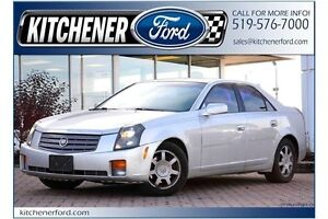 2003 Cadillac CTS LEATHER/V6/PWR GROUP/ALLOYS/