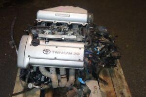 JDM Toyota Corolla Levin 4A-GE 20 Valve Engine 5 Speed Manual