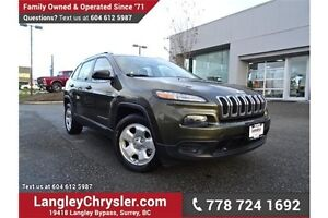 2014 Jeep Cherokee Sport LOCALLY DRIVEN, ONE OWNER & ACCIDENT...