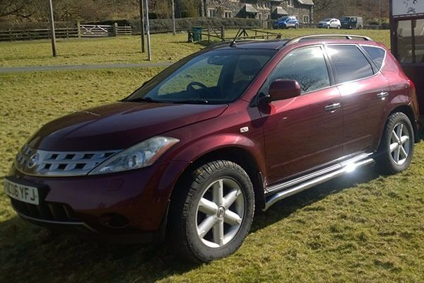 nissan murano 4x4 suv in rhayader powys gumtree. Black Bedroom Furniture Sets. Home Design Ideas