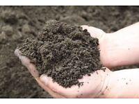 Blended loam soil