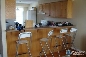 one room in a shared townhouse available till end of August