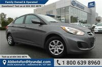 2014 Hyundai Accent L w/- Manual Transmission & Fuel Efficient