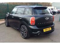 MINI John Cooper 1.6 John Cooper Works ALL4 5dr (black) 2014
