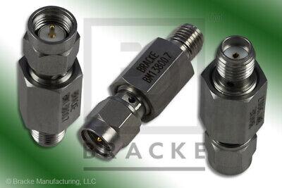 2-18 Ghz Sma Male To Female Negative Slope Equalizer 7 Db Bracke Bm13800.7