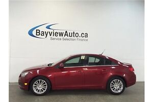 2012 Chevrolet CRUZE ECO- TURBO! 6 SPEED! CHROMES! A/C! CRUISE!