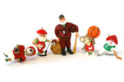 Hallmark Snowman Ornament Lot