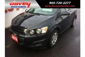 2014 Chevrolet Sonic LT Auto REMOTE STARTER, HEATED SEATS, BL...