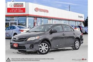 2011 Toyota Corolla CE One Owner, No Accidents, Toyota Serviced