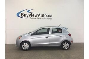 2015 Mitsubishi MIRAGE - HATCHBACK! A/C! BLUETOOTH!