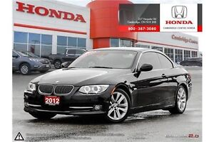 2012 BMW 328 i CONVERTIBLE | PARKING ASSIST SYSTEM | GPS NAVI... Cambridge Kitchener Area image 1