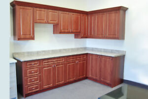 sample kitchen cabinets for sale