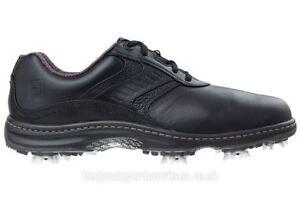 Footjoy Men's Contour Golf Shoes - Black 9.5 Medium