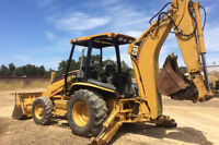 Looking for back-hoe delivery from Brantford area to Bracebridge