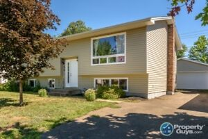 4 bed/2 bath with private yard, detached garage & pool