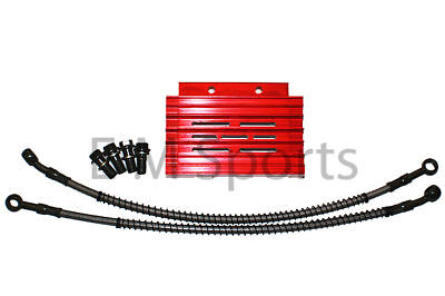 Chinese Dirt Pit Bike Red CNC Oil Cooler Radiator Apollo AGB-37CRF-2 Parts