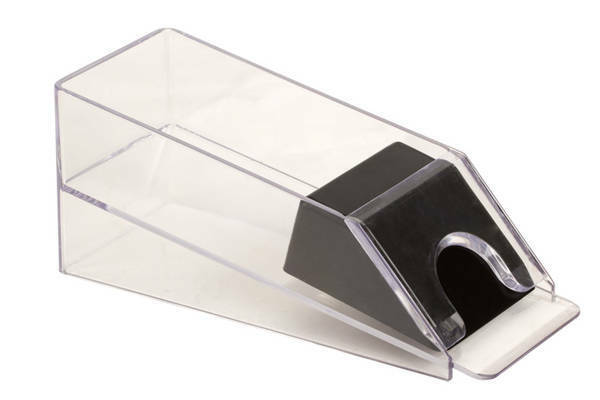 4 Deck Acrylic Plastic Poker Blackjack Playing Card Deal Dealing Shoe Dispenser