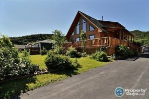 Waterfront home on large lot, minutes from Stephenville.