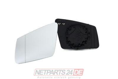 für Mercedes W204 C-Klasse Spiegelglas Außenspiegel-Glas li., Fahrersei. 08/08-