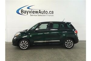 2015 Fiat 500L LOUNGE- TURBO! PANOROOF! HEATED LEATHER! NAV! Belleville Belleville Area image 1