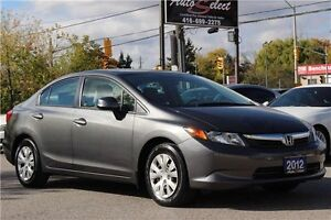 2012 Honda Civic ONLY 65K! **LX MODEL** POWER OPTIONS