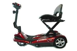 TRANSIT ELECTRIC FOLDING PORTABLE SCOOTER at Moose Mobility